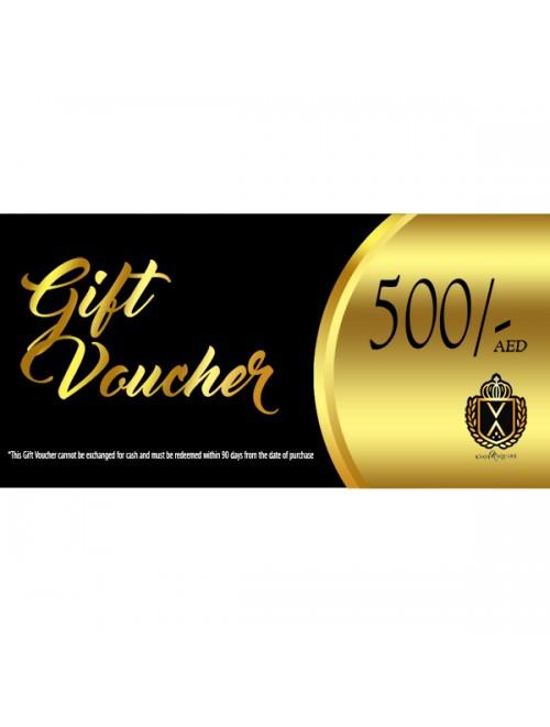 Gift Voucher AED 500