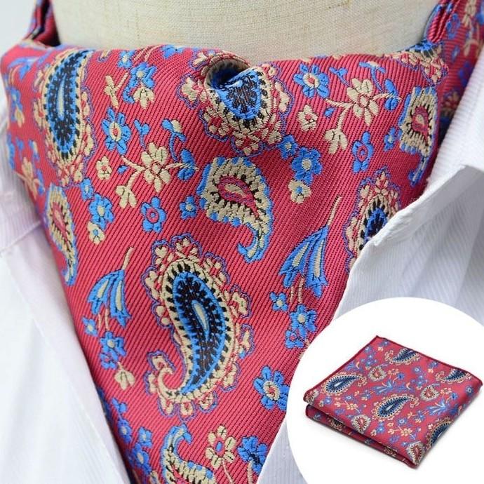Paisley Cravat, Pink