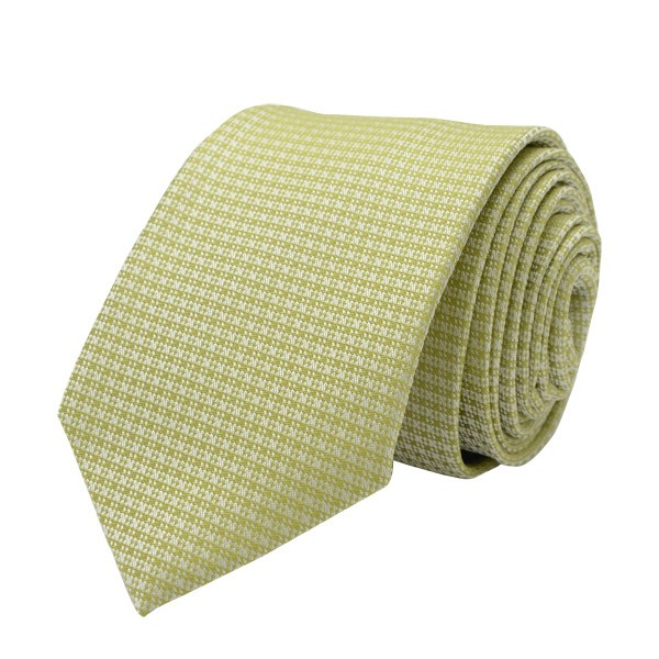 Classic Self Design, Pista Green Including Pocket Square