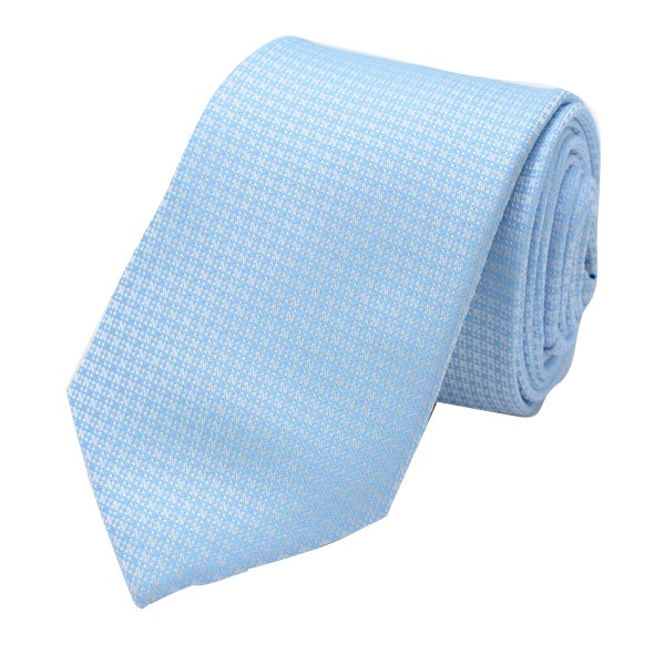 Classic Self Design, Sky Blue Including Pocket Square