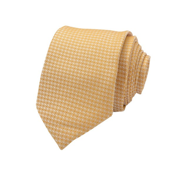 Classic Self Design, Orange Including Pocket Square