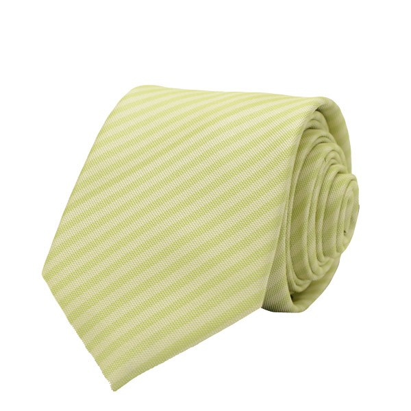 Self Stripes, Pista Green Including Pocket Square