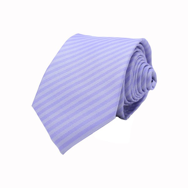 Self Stripes, Purple Including Pocket Square