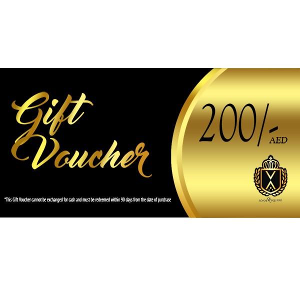 Gift Voucher AED 200