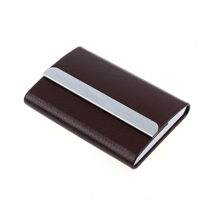 Brown Leather Visting Card Holder