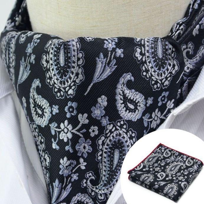 Paisley Cravat, Black