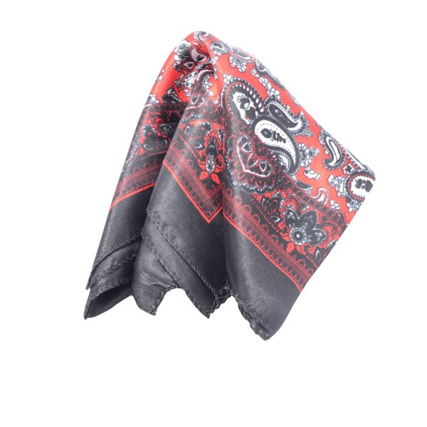 Paisley, Black/Red