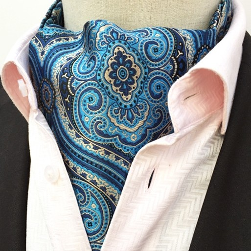 BLUE MOGUL DESIGN CRAVAT