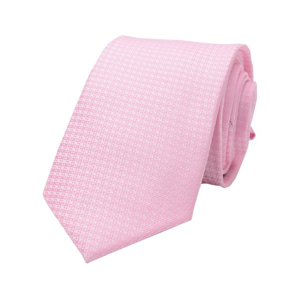 Classic Self Design, Pink Including Pocket Square