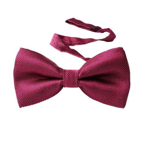 Classy Self Designed Bow Tie, Magenta