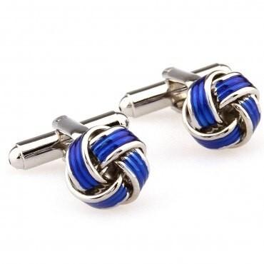 Blue Knot Cufflink